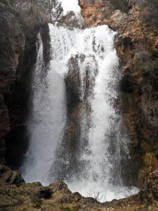 Cascada batida Albarracín