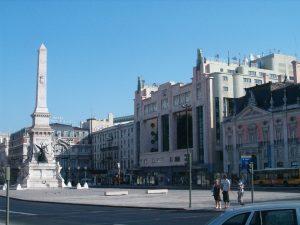 Plaza Restauradores Lisboa